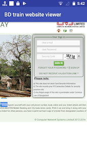 BD Railway Online Ticket Buyer & Train Tracker 2