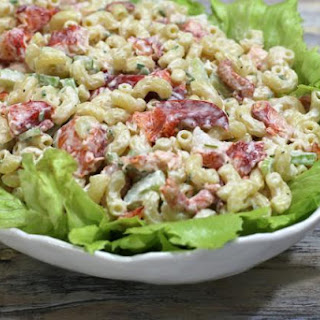 Lobster and Macaroni Salad