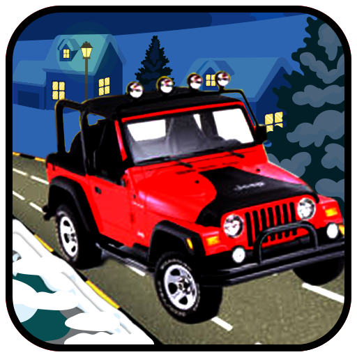 Snow Jeep Hill Racing Pro