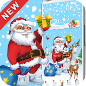 Santa Merry Christmas theme 3D