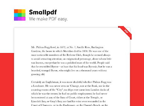 Smallpdf - Edit, Compress and Convert PDF