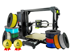LulzBot TAZ Pro S 3D Printer Professional Bundle with 2 Year Extended Warranty