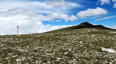 Photo: col : Mort de l'Escoula 2412 m et Roc Colom