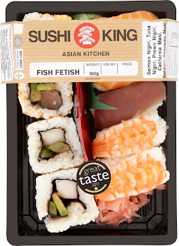 Sushi King Asian Kitchen Fish Fetish - 305g