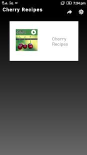 Cherry Recipes - náhled