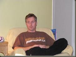 John relaxes