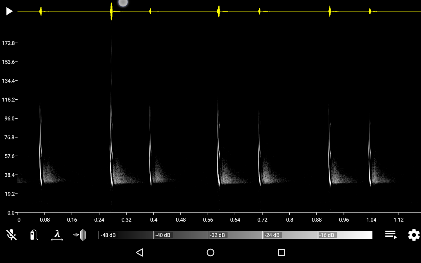 Bat Recorder- screenshot