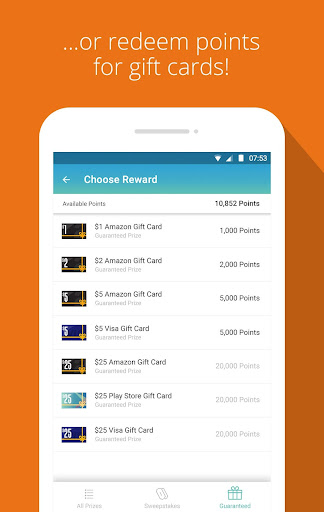 Panel App - Prizes & Rewards Screenshot