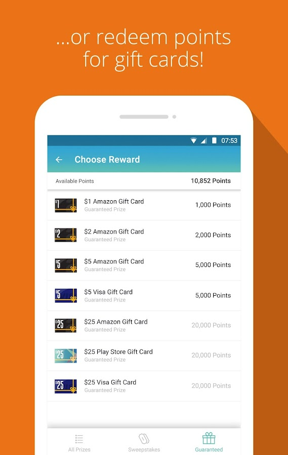 Panel App - Prizes & Rewards- screenshot