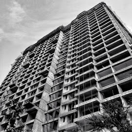 by Soumyadip Ghosh - Black & White Buildings & Architecture