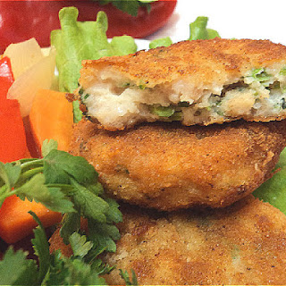 Fish Cutlets With Vegetables