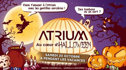 L'Atrium au cœur d'Halloween