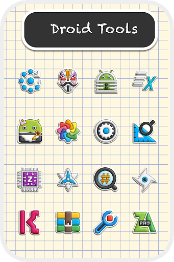 Poppin icon pack 1.7.5 screenshots 3