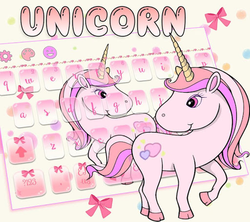 Theme My Little Unicorn Keyboard for PC