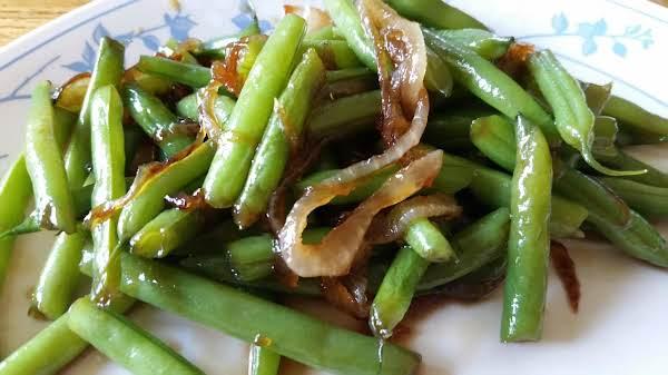 Orange Glazed Green Beans Recipe
