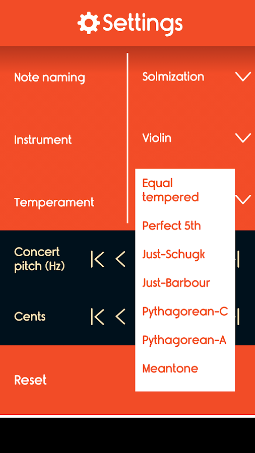 Master Violin Tuner- screenshot