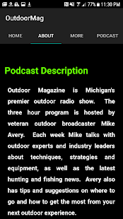 Mike Avery's Outdoor Magazine- screenshot thumbnail