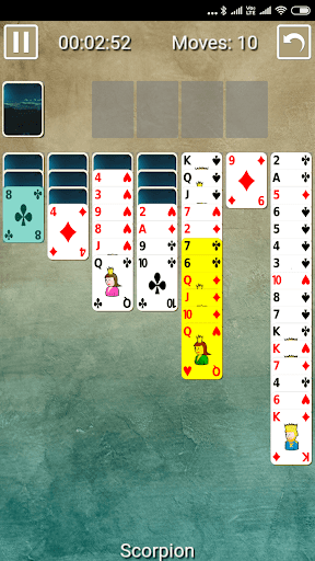 Scorpion Wasp Solitaire 1.0.0 screenshots 3