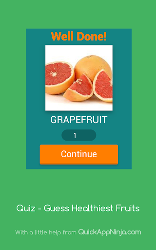 Quiz - Guess Healthiest Fruits  screenshots 8