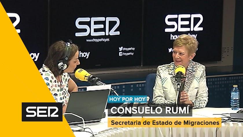 """Rumí: """"No contemplamos un proceso de regularización de inmigrantes"""""""