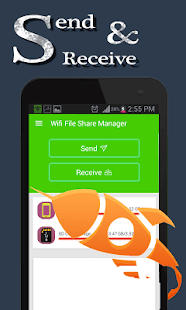 Wifi File Share Manager Screenshot