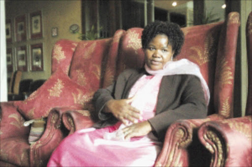 20100325VNH.   Khanyisile Ndwandwe at the awards ceremony at Wanderes Club in Ilovo.PIC:VELI NHLAPO.25/03/2010. © SOWETAN