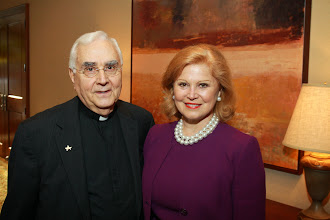 Photo: Fr. Donald Nesti with Special Guest Jan Duncan