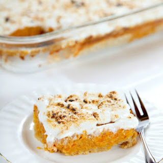 Southern Sweet Potato Pie Bars