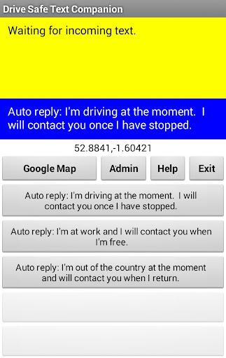 Drive Safe Text Companion Free