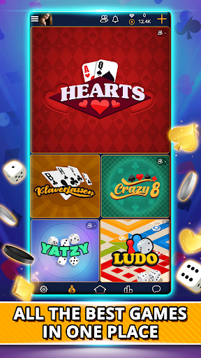 VIP Games: Hearts, Rummy, Yatzy, Dominoes, Crazy 8 3.5.58 screenshots 1