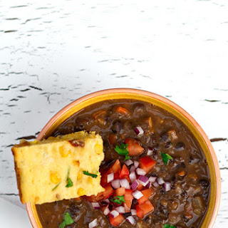 Brazilian Style Black Bean and Smoked Tofu Stew (Vegan Feijoada).
