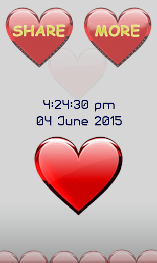 心臓の画面ロック