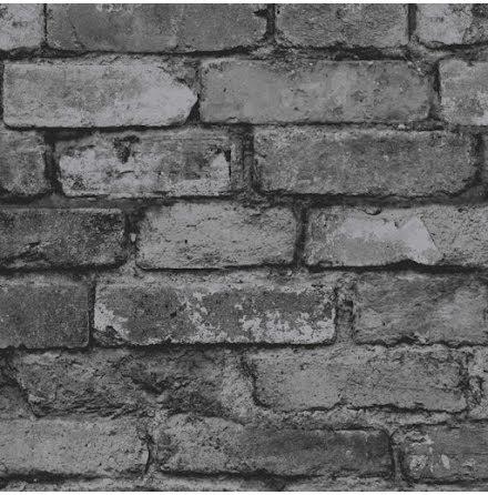 Fine Decor tegelvägg tapet FD31284 - Kolgrå