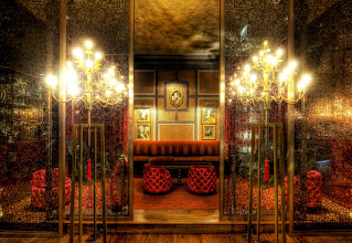 Photo: Here's one of my favorite places - The Crimson Lounge in Chicago... It's a great place to hang out... and a great place for photography! :)