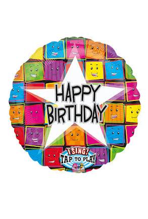 Folieballong, Happy Birthday
