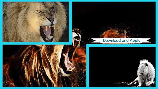 Vyděšený Lion Live Wallpaper - náhled