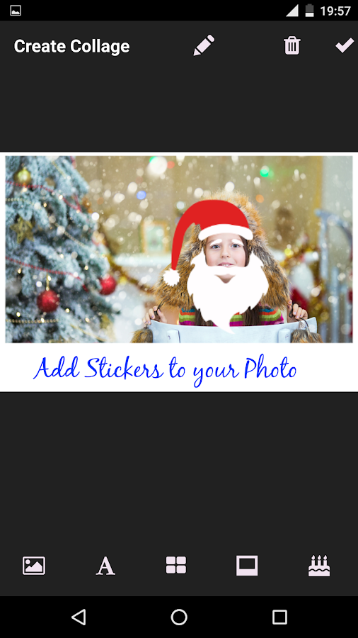 Xmas Photo Collage- screenshot