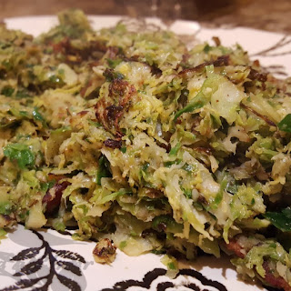 Shaved Brussels Sprouts with Bacon Recipe