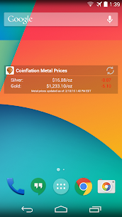 Coinflation Gold & Silver Apk Melt Values 4