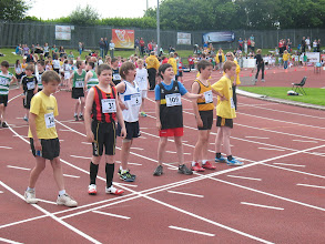 Photo: Jack Ryan, Moycarkey Coolcroo A.C. at the Cork City Sports 300m Juvenile Gala