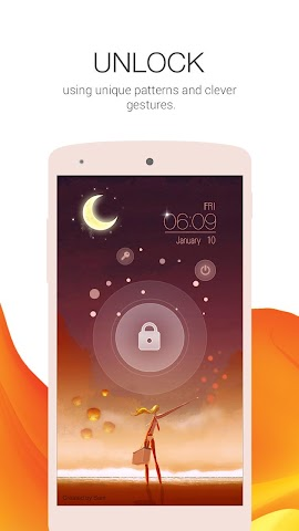 android Locker Master- DIY Lock Screen Screenshot 2