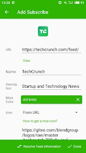 Rolly RSS Reader 35 Mod + Data for Android 1