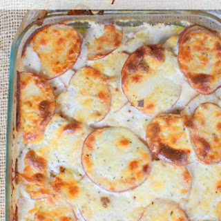Italian Scalloped Potatoes Recipe