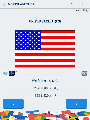 The Flags of the World u2013 Nations Geo Flags Quiz 4.9 screenshots 10