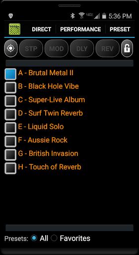 Remuda Lite - USB Guitar Amplifier Control App 1.8.4-lite screenshots 1