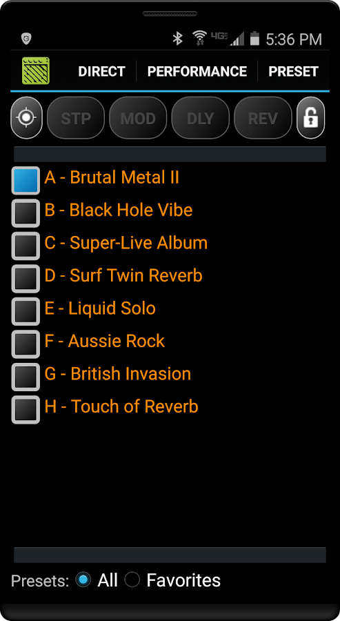 remuda lite - usb guitar amplifier control app - android apps on