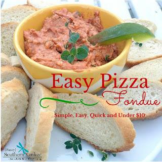 Perfectly Yummy Pizza Fondue Recipe