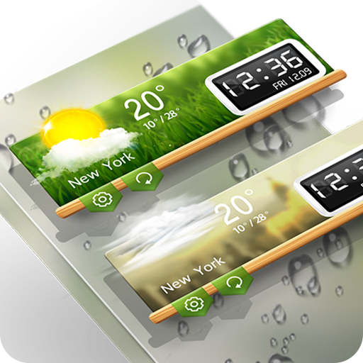 Weather & Clock Widget - Alpha