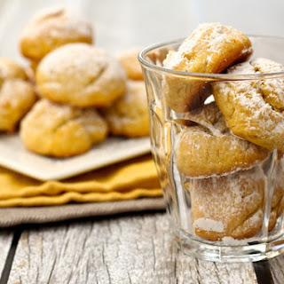 Triple Orange Mexican Cookies - Polvorones de Naranja