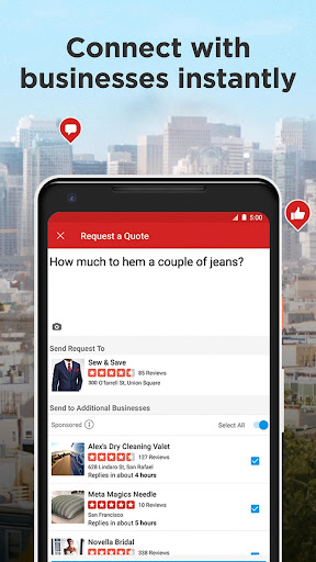 Yelp: Food, Shopping, Services Nearby  screenshots 5